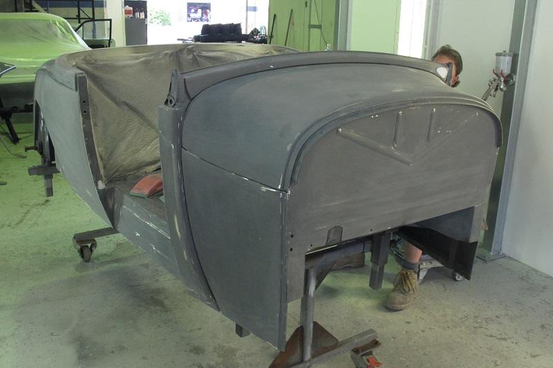 1929 Ford Model A Roadster - Hot Rod Build - Ol' School Garage (25).JPG