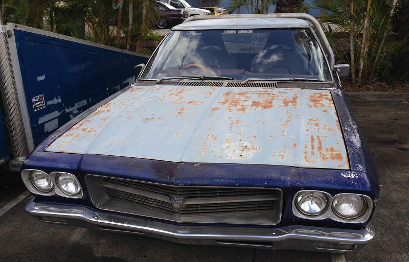Holden HJ ute 1 tonner Restoration - Ol' School Garage (1).JPG