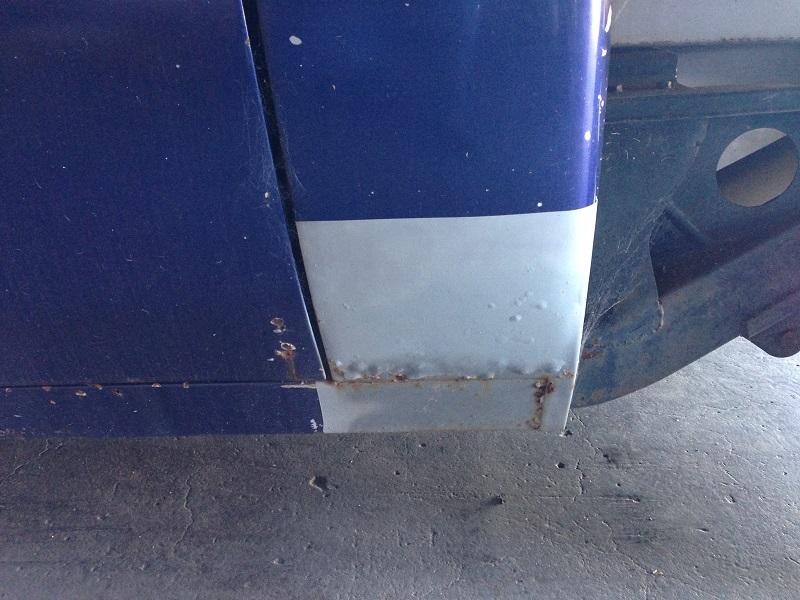 Holden HJ ute 1 tonner Restoration - Ol' School Garage (24).JPG