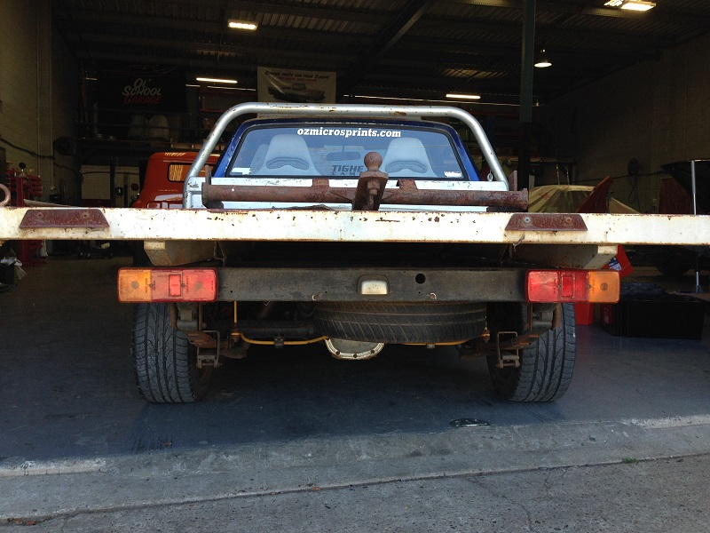 Holden HJ ute 1 tonner Restoration - Ol' School Garage (14).JPG