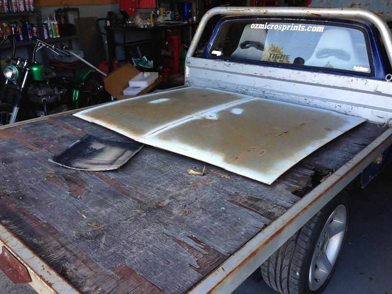 Holden HJ ute 1 tonner Restoration - Ol' School Garage (22).JPG