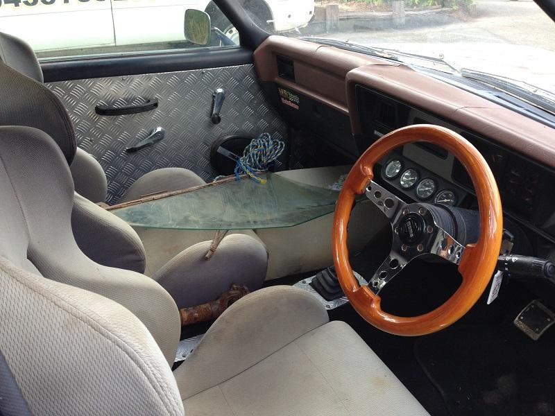 Holden HJ ute 1 tonner Restoration - Ol' School Garage (8).JPG