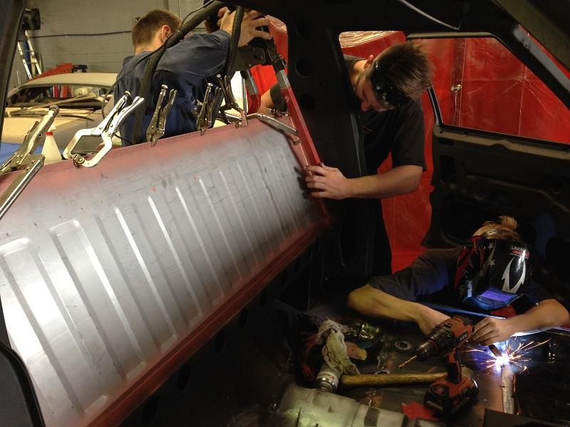 Holden Ute Restoration - Ol' School Garage (2).JPG
