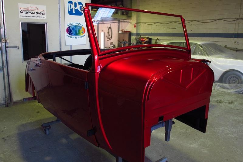 29 Ford Model A build - for sale - ol' school garage (6).JPG