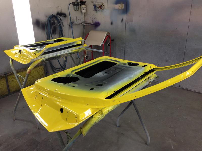 Holden HJ 1 tonner ute restoration - Ol' School Garage - Absinth Yellow (25).jpg