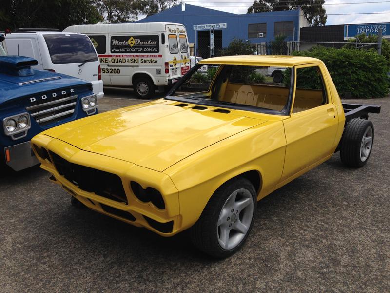 Holden HJ 1 tonner ute restoration - Ol' School Garage - Absinth Yellow (20).jpg