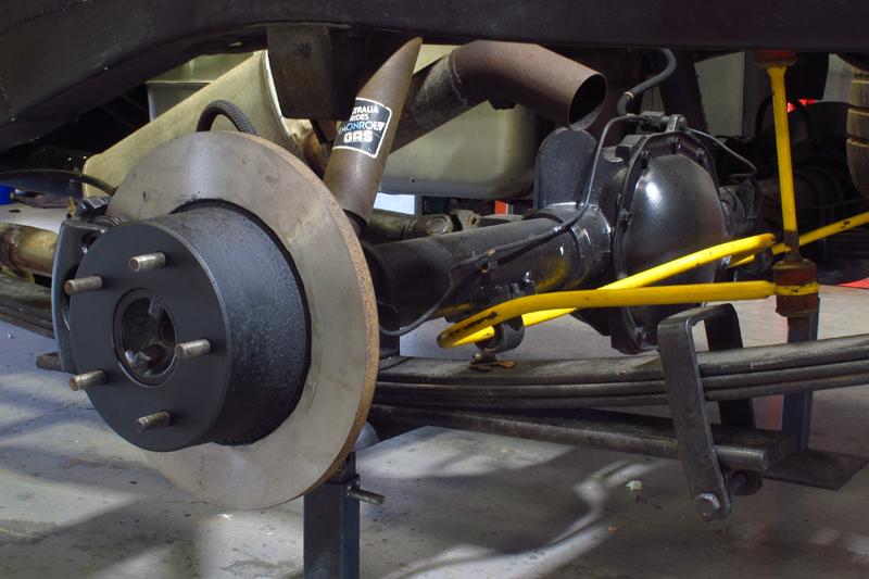 Holden HJ 1 tonner ute restoration - Ol' School Garage - Absinth Yellow (2).jpg