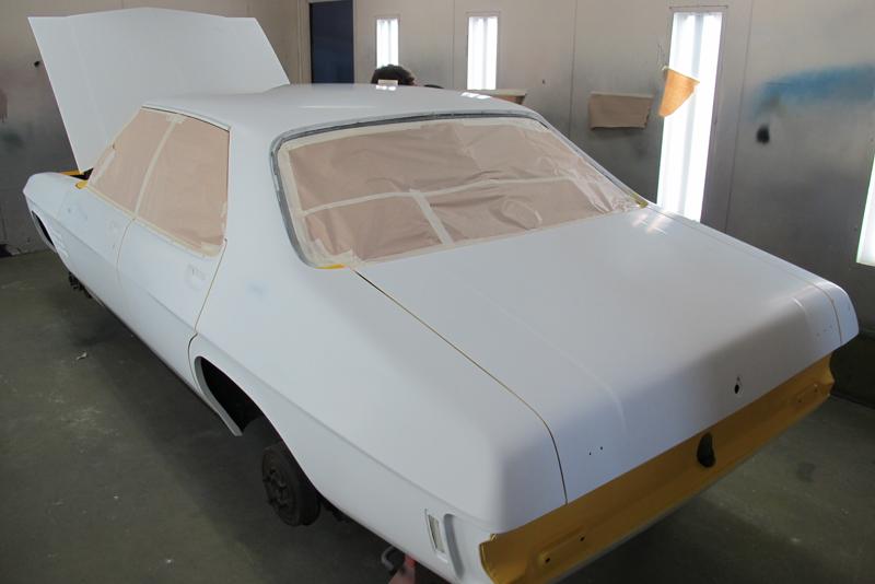 Chrome Yellow GTS HOlden HQ Sedan (7).jpg