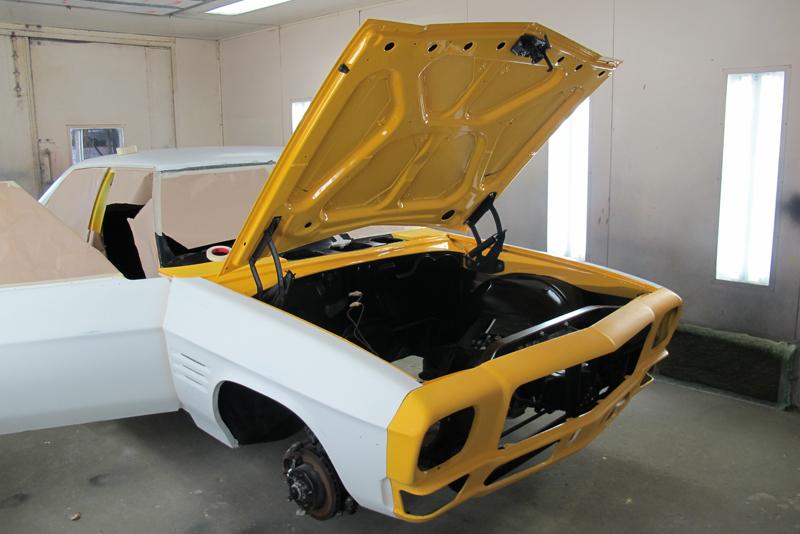Chrome Yellow GTS HOlden HQ Sedan (1).jpg