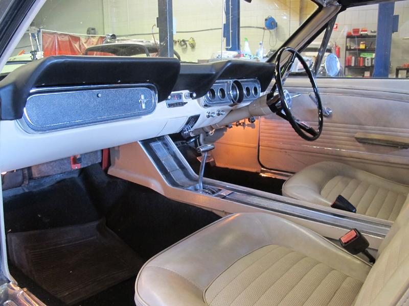 1966 Ford Mustang Convertible - Undergoing Restoration at Ol' Schoool Garage Brisbane (15).jpg