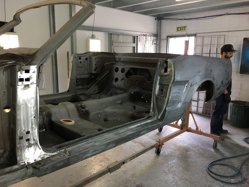 66 Mustang convertible - Australian Restoration by Ol' School Garage (10).jpg