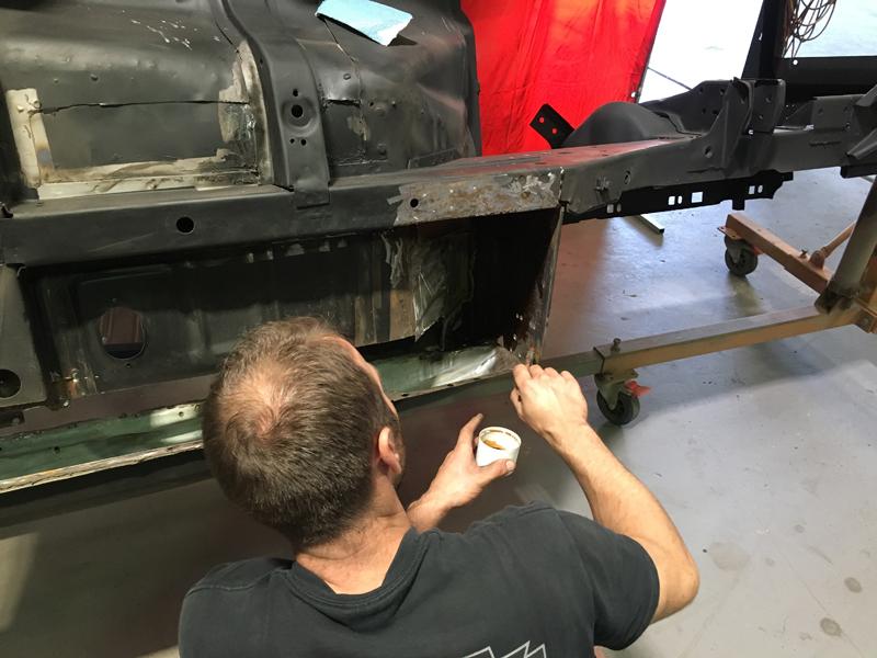 66 Mustang convertible - Australian Restoration by Ol' School Garage (25).jpg