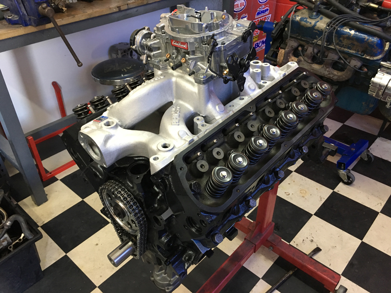 289ci 347ci engine Ford Windsor build - 1966 Ford Mustang Convertible (3).jpg