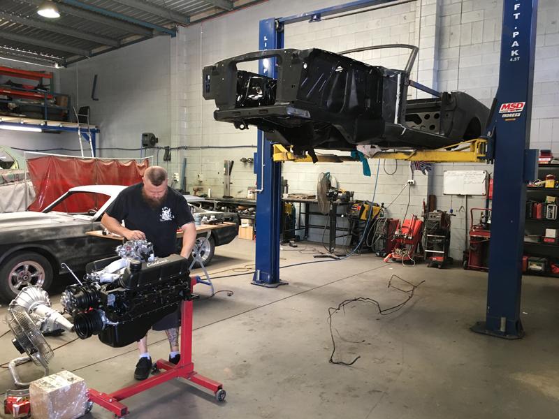 Brisbane 1966 Ford Mustang Convertible - Restoration Project Build - Ol' School Garage (27).jpg
