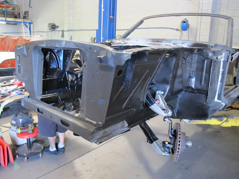 Brisbane 1966 Ford Mustang Convertible - Restoration Project Build - Ol' School Garage (34).jpg