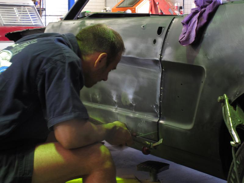 Brisbane 1966 Ford Mustang Convertible - Restoration Project Build - Ol' School Garage (45).jpg