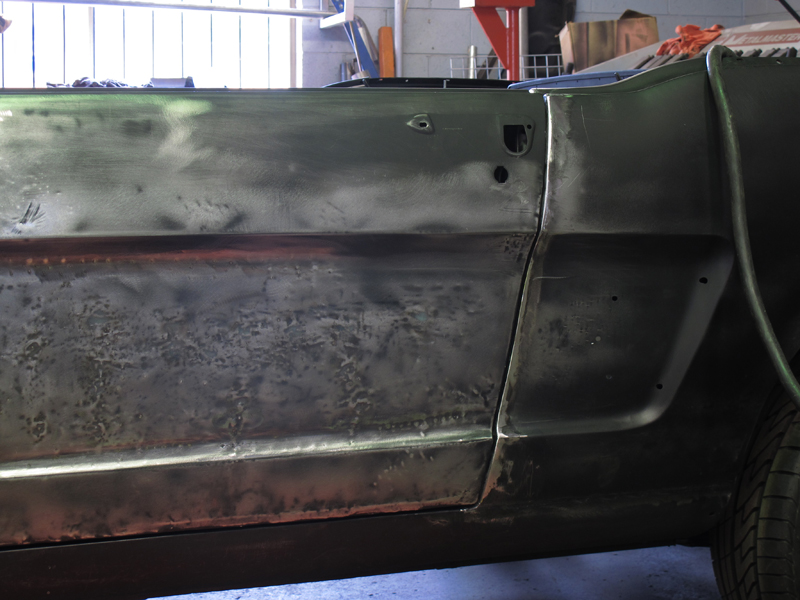 Brisbane 1966 Ford Mustang Convertible - Restoration Project Build - Ol' School Garage (47).jpg