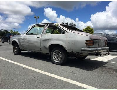 Having my own shop and a rust repair specialist like Roland, rust doesn't usually scare me. But I couldn't believe the owner of this super rusty LX Torana SS project didn't take the money and run. It was passed in at $17,000.