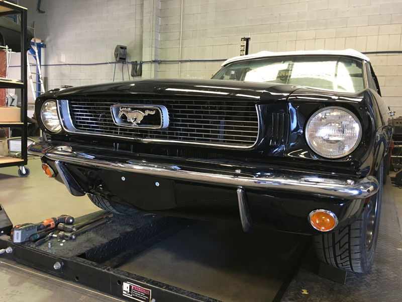 66 Ford Mustang Convertible Black - Restoration Brisbane (3).jpg
