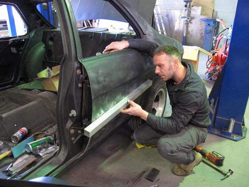HQ Holden 1973 Sedan Restoration Bare Metal Project Brisbane (23).jpg