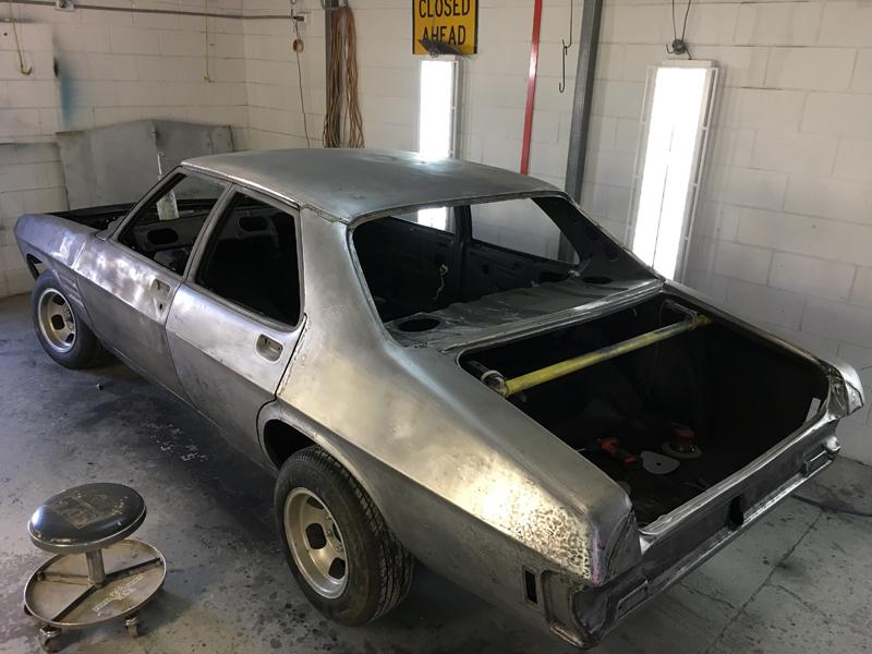 73 Holden HQ sedan metal work body work - restoration (8).jpg