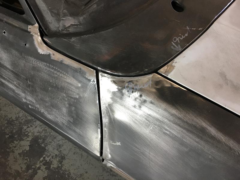 73 Holden HQ sedan metal work body work - restoration (6).jpg