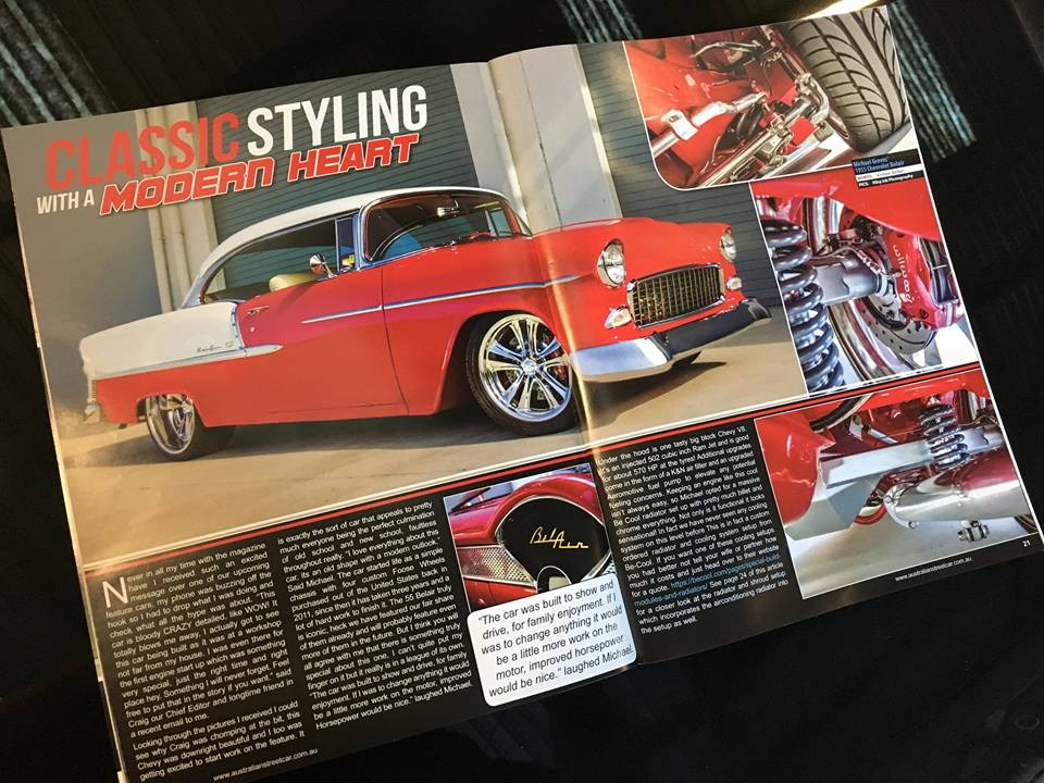 Australian Street Car Magazine - 1955 Chevrolet Bel Air - Ol' School Garage - Brisbane (4).jpg