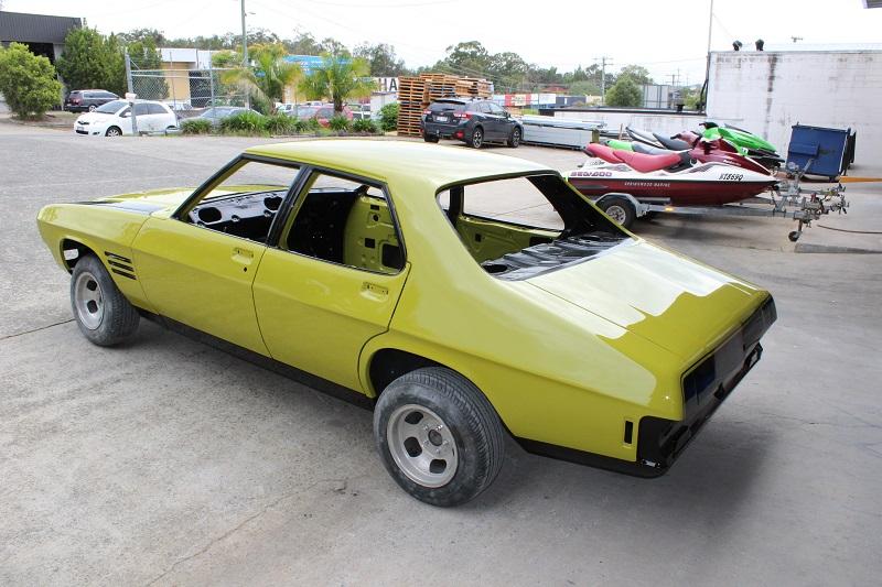 Holden HQ Lettuce Alone Green - Restoration Bare metal Brisbane (40).JPG