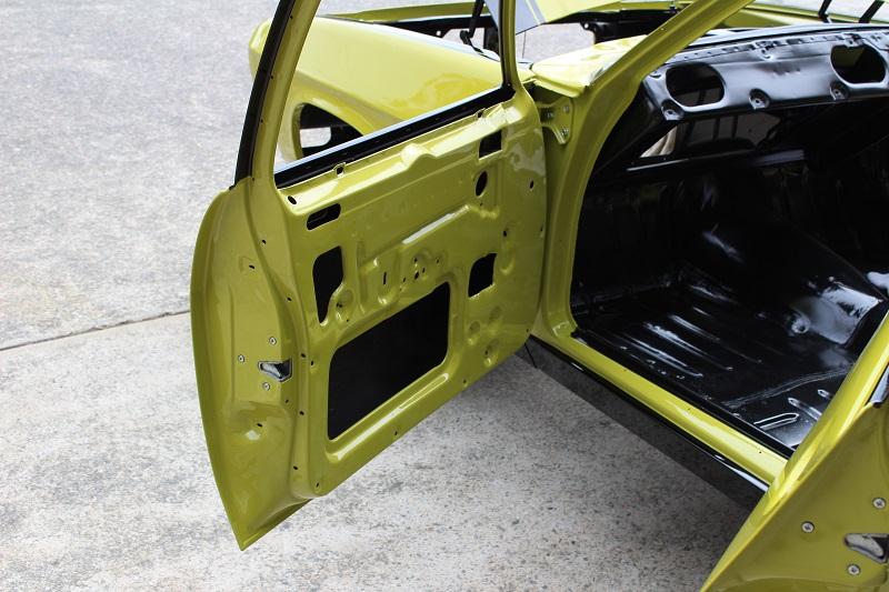 Holden HQ Lettuce Alone Green - Restoration Bare metal Brisbane (48).JPG
