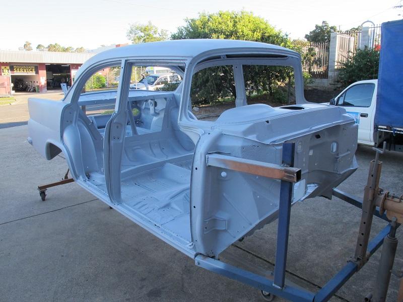 sandblasted EK sedan - ol' school garage brisbane (2).JPG