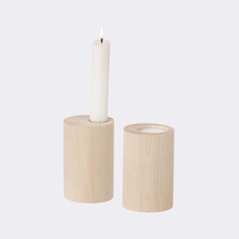 ferm living cylinder candle holder