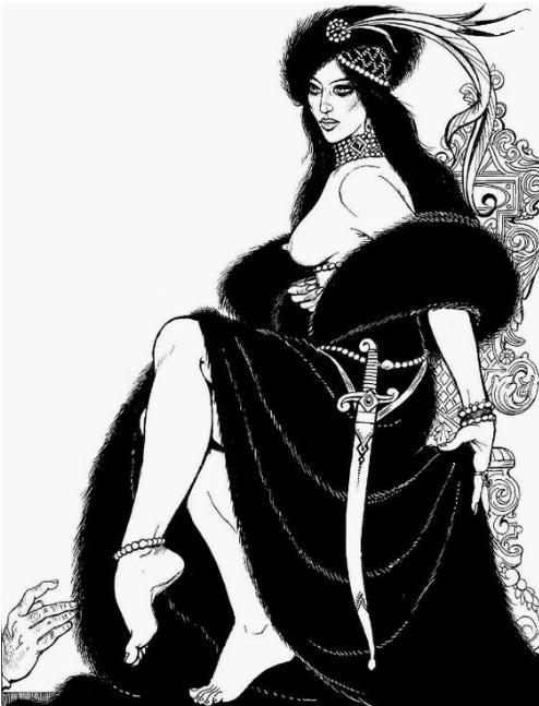 Erzebeth Bathory by Georges Pichard ©Georges Pichard
