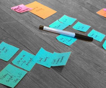 Everything is better with affinity diagramming.