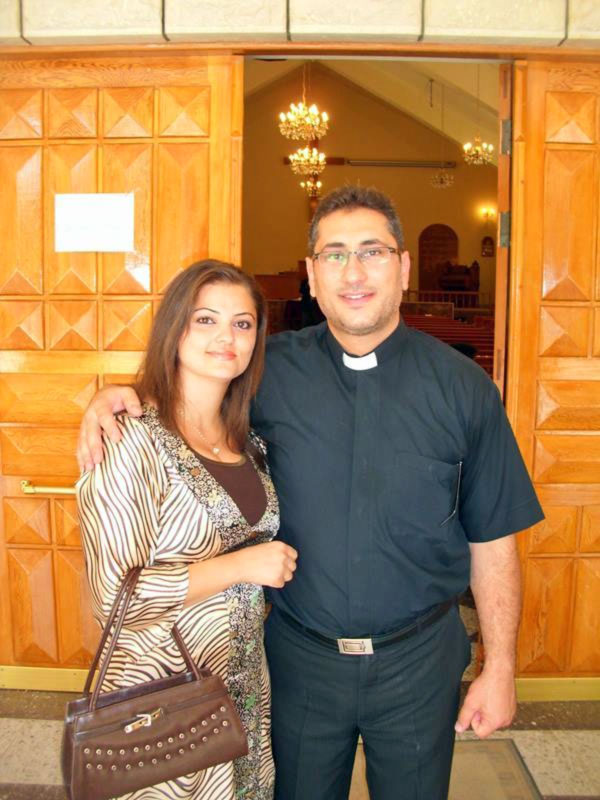 Rev. Feras Ferah (shown here with his wife) is pastor in Kamishli, a city in the far eastern side of Syria