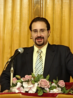 Rev. Ya'coub, class of 2009, serving the Presbyterian Church in Syria