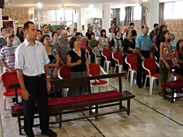 Worship in Mhardeh