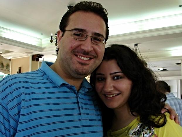 Yacoub andMathild Sabbagh in 2009