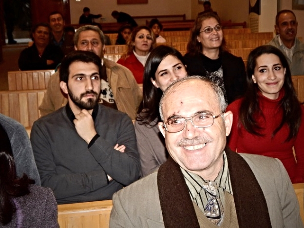 A warm welcome from the Presbyterians in Fairouzeh, Syria
