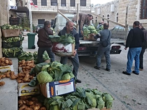 An ecumenical effort in South Lebanon allows for a central distribution site.