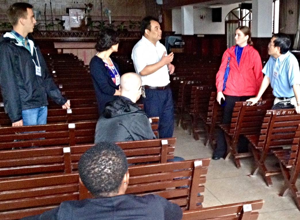 Learning from Rev. Zhang at Centennial Church