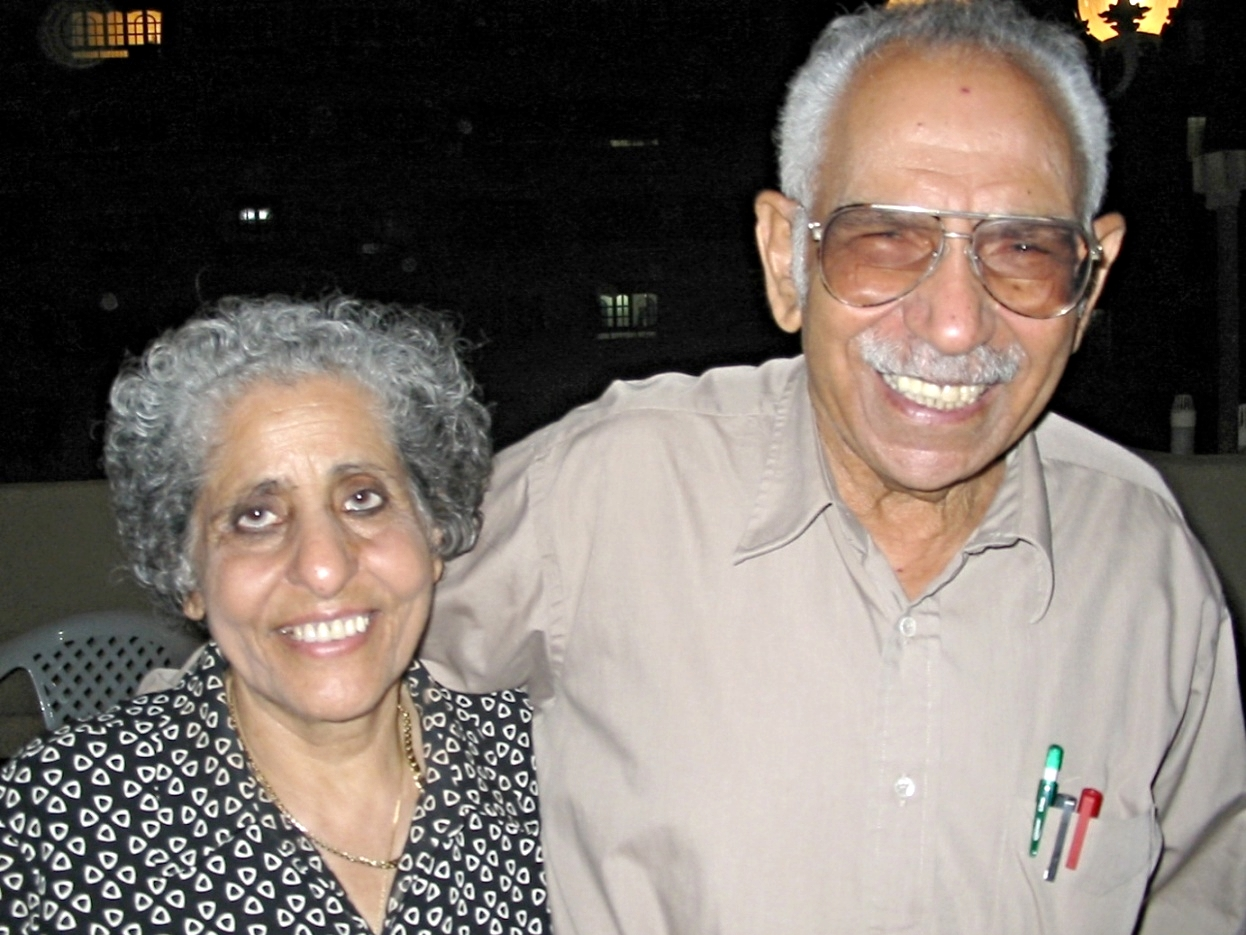 Dr.Swailem Sidhom Hennein and his wife, Mrs. Sameera Rizk Hennein