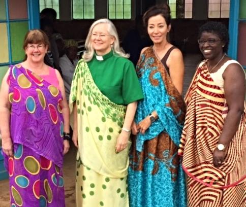 Heidi, Nancy, Andi and Ebralie