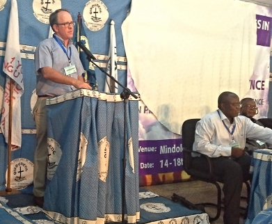 Justo Mwale faculty offered a panel discussion on the prosperity gospel.