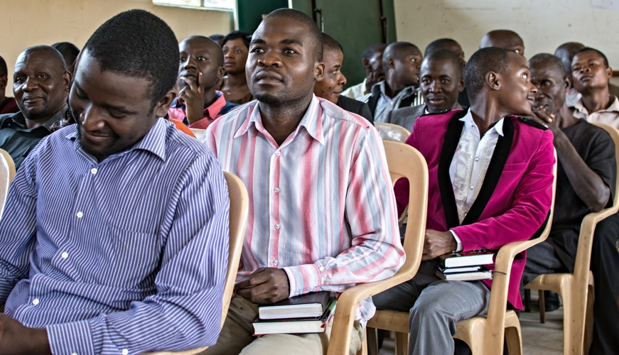 Pray for Justo Mwale students to be genuine disciples and faithful preachers. (Photo by Johanneke Kroesbergen)