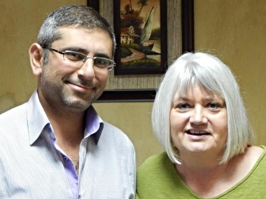 Saleem and Marilyn Borst