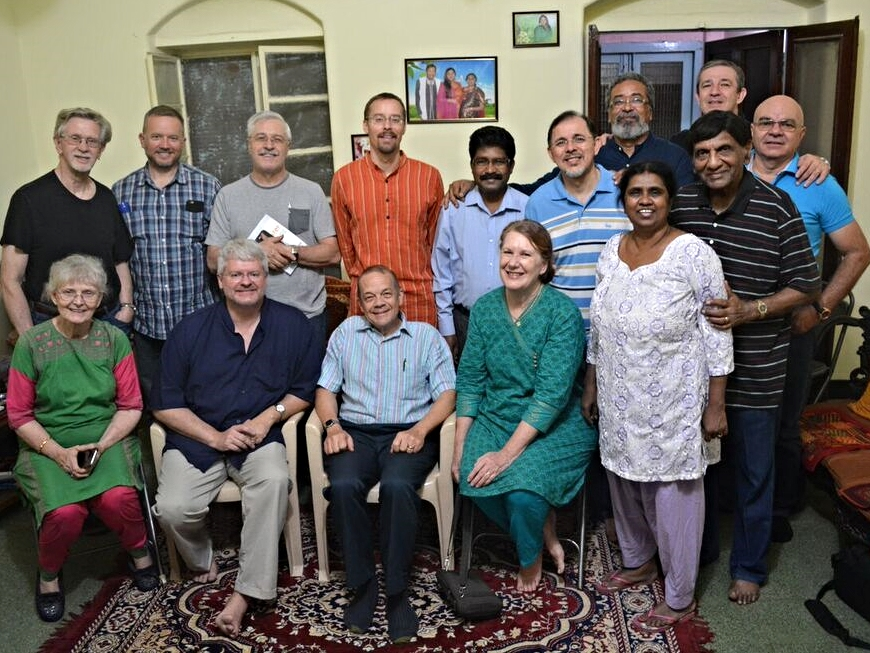 """A """"reunion"""" of Christ followers from India, Brazil, and the United States"""