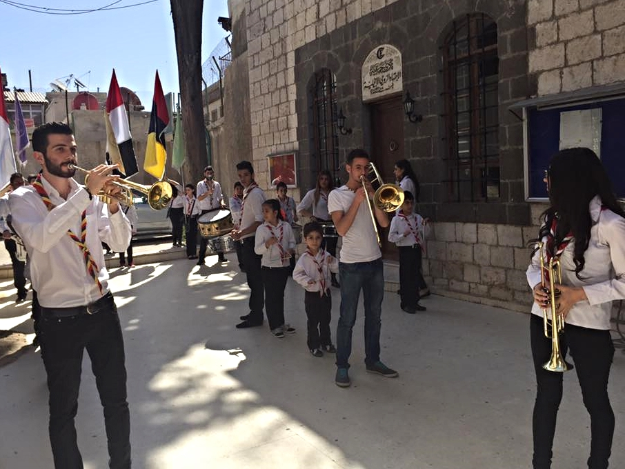 These are the scouts of the Damascus church, a vital ministry in many churches.