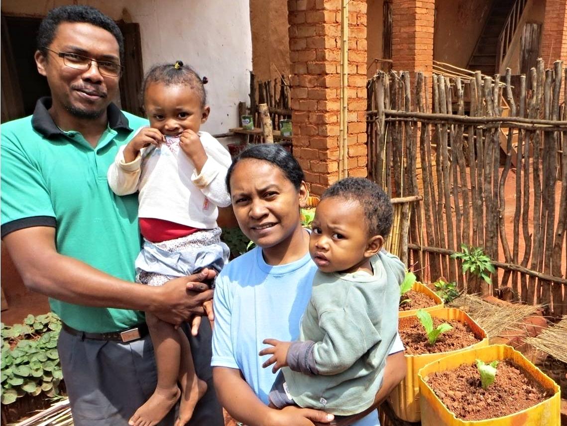 Pastor Haja and family