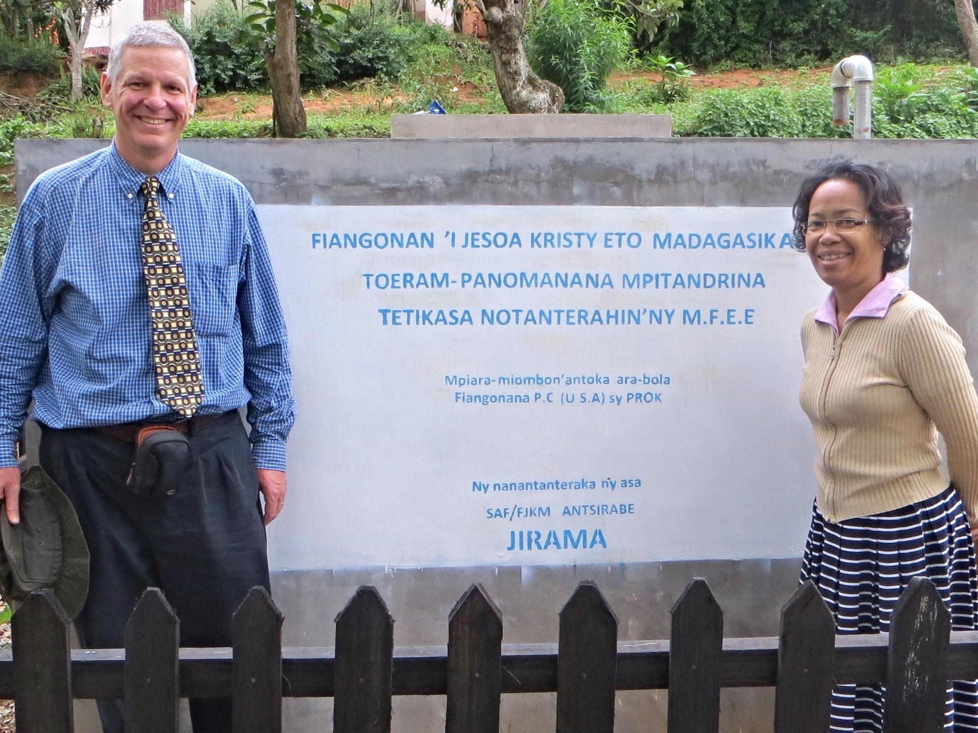 Dan and Pastor Haingo