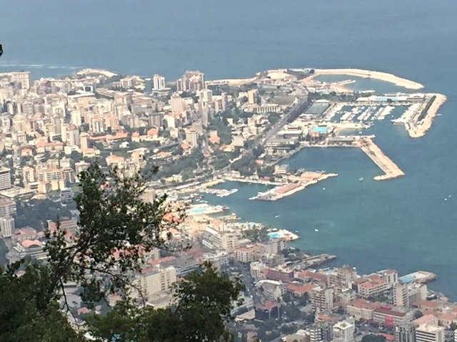 A bird's eye view of Beirut